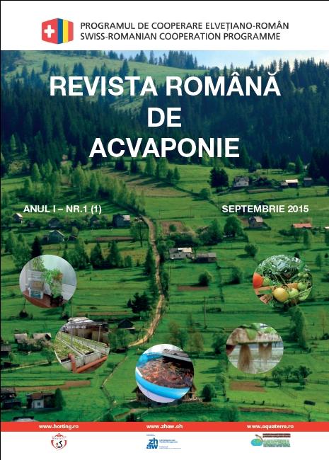 Revista Romana de Acvaponie_ANUL I – NR.1
